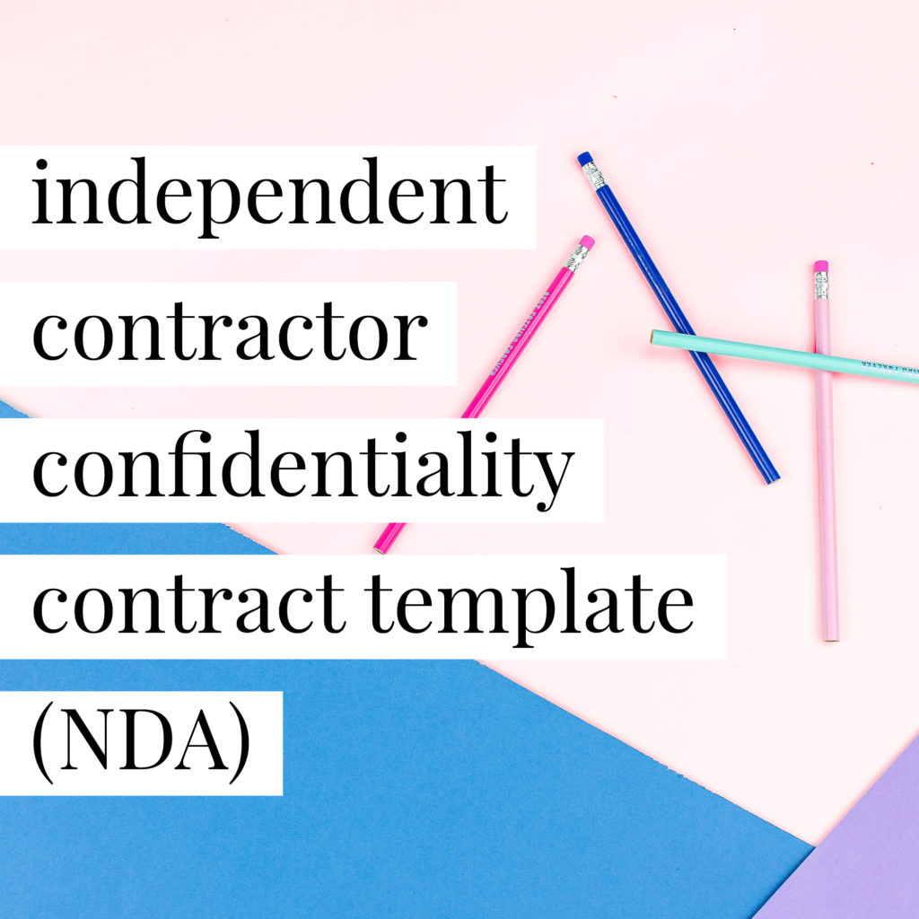 independent-contractor-nda
